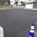 山形市内駐車場舗装工事